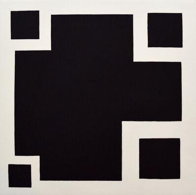 David Diao, 'Black Image', 1988