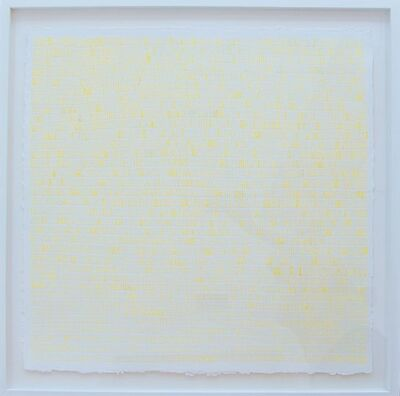 Leigh Suggs, 'Lining Yellow', 2014