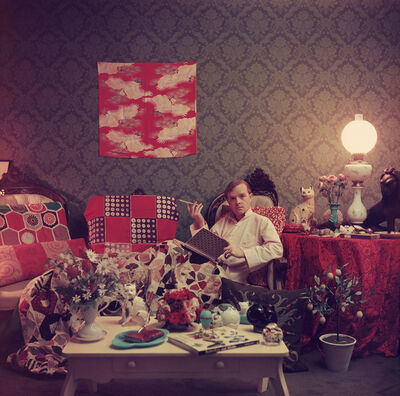 Slim Aarons, 'Capote at Home', 1958