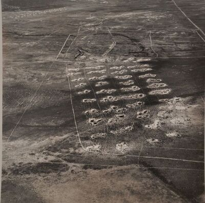 Emmet Gowin, 'Bomb Disposal Site, Tooele Army Depot', 1988