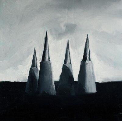 Wladymir Bernechea, 'Clavar el cielo', 2021