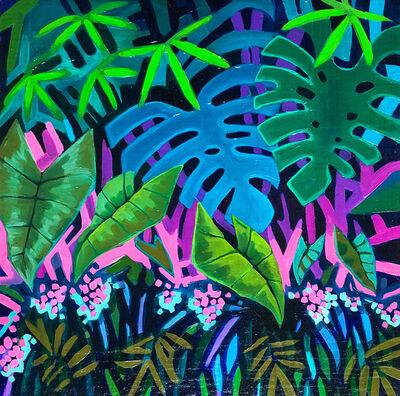 Julia Deckman, 'Moody Botanical Study '