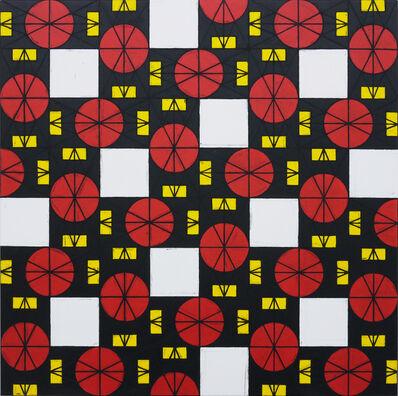 Matt Mullican, 'Untitled (Square colored chart 2)', 2011