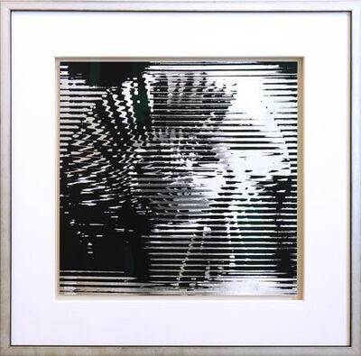 Heinz Mack, 'Rotor schwarz-silber', 1970