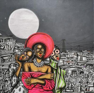 Obou Gbais, 'Les Ambassadrices Dan', 2020
