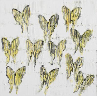 Hunt Slonem, 'Swallowtails', 2019