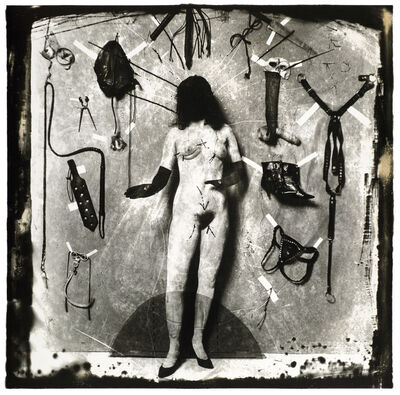 Joel-Peter Witkin, 'Choice of Outfits for the Agonies of Mary, San Francisco', 1984