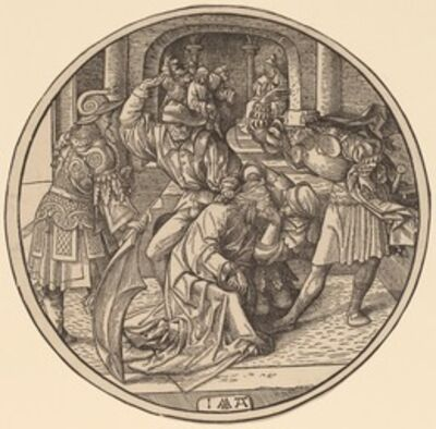 Jacob Cornelisz van Oostsanen, 'The Mocking of Christ', 1513