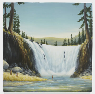 Dan Attoe, 'Family at Waterfall 2', 2016