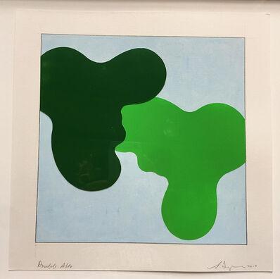 Scott Ingram, 'Double Camo (2 vases)', 2010