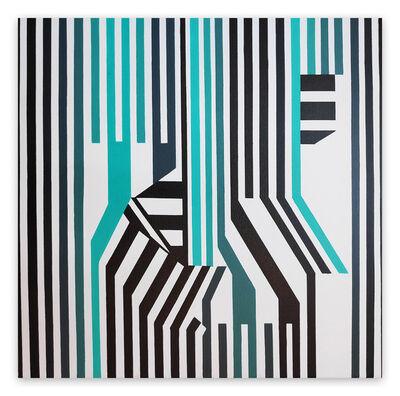Cristina Ghetti, 'Folded II (Abstract painting)', 2020