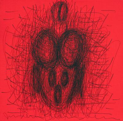 Judith Bernstein, 'Active Figuration Fluorescent', 2001