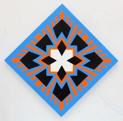 Jack Youngerman, 'Orangeblue (diamond display)', 2014