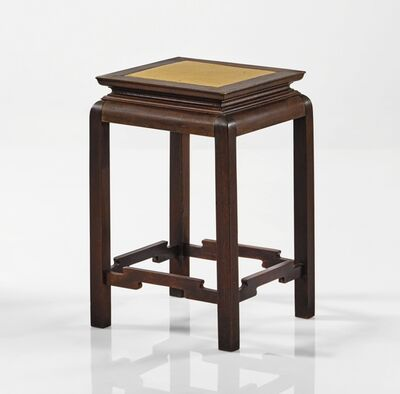 "Gustav Stickley, 'A Rare ""Tokio"" Plant Stand, Model No. 10', circa 1901"