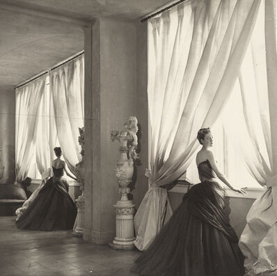 Cecil Beaton, 'Nancy James Modelling One Of Her Husband's Creations', 1955