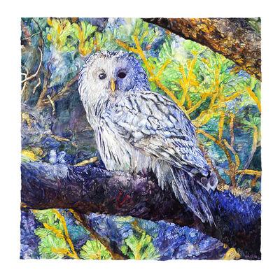Joseph Raffael, 'Owl', 2020-2021