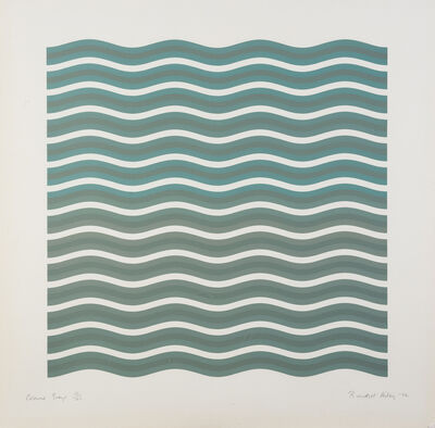Bridget Riley, 'Coloured Greys [2]', 1972