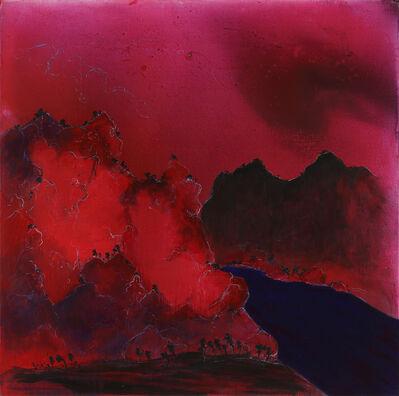 Zheng Zaidong, 'Sunset Over the Hills | 落日山色', 2014