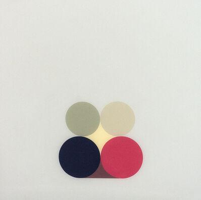 David Cantine, 'Gray-Green Still Life 2 - small, minimalist, abstract, acrylic on plexiglass', 2003
