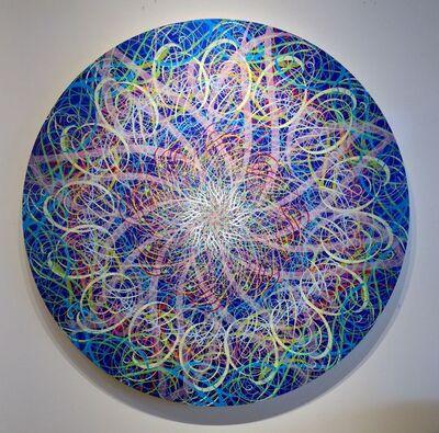 Ryan McGinness, 'Untitled, (Black Hole, Blue)', 2007