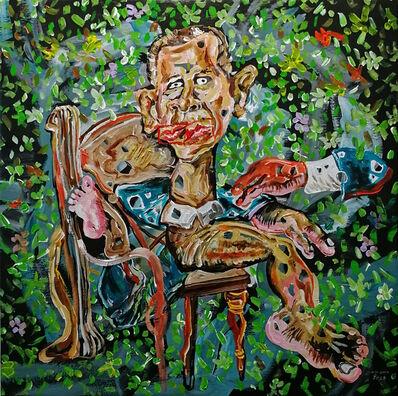 Cristiano Mangovo, 'Obama Portrait', 2018