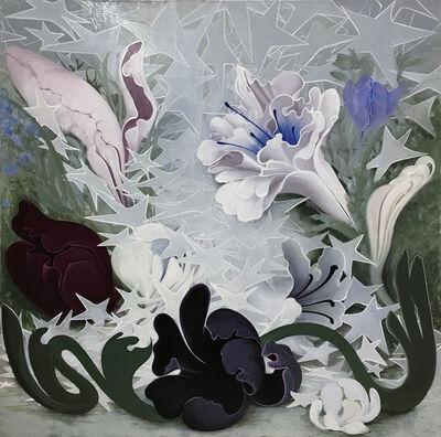 Inka Essenhigh, 'Flowers in Starlight', 2018