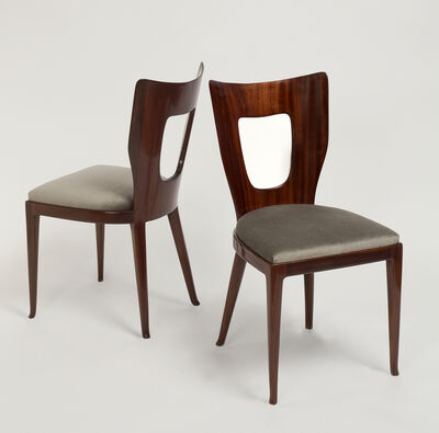 Osvaldo Borsani, 'Rare Set of Triennale Dining Chairs - 8', ca. 1950