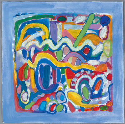 Gillian Ayres, 'Fred's Leap', 2006