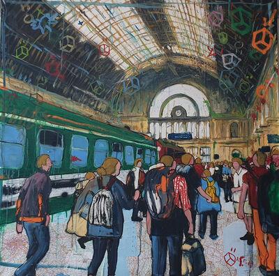 Andrea Sbra Perego, 'Budapest, Keleti Station', 2019