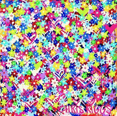 CHRIS RIGGS, 'Flower Painting 2', 2018