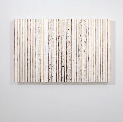 Flavio Senoner, 'Line relief white and gray', 2018