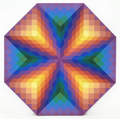 Stan Slutsky, 'X (OCTAGON SHAPED)', 1993