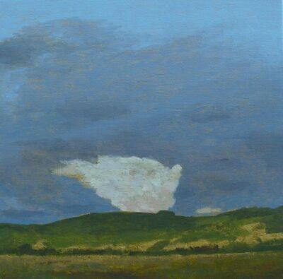 David Inshaw, 'Cloud', 2017