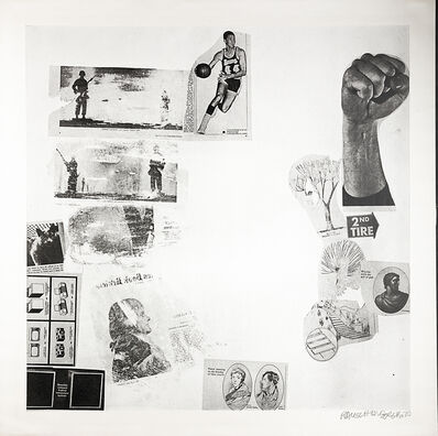 Robert Rauschenberg, 'Features, from Currents', 1970