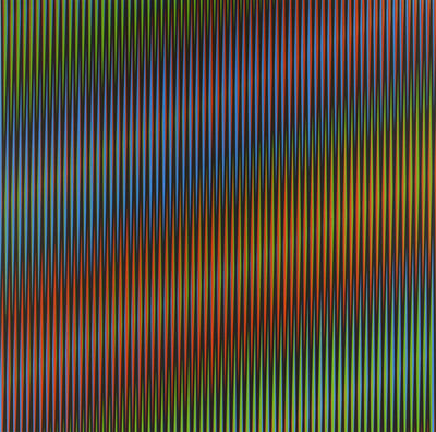 Carlos Cruz-Diez, 'Martes. Tuesday.', 2013