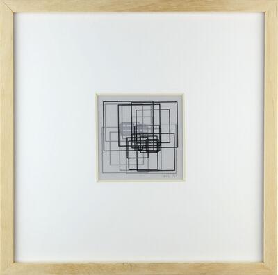 Vera Molnar, 'La javà de 24 carrés', 1974