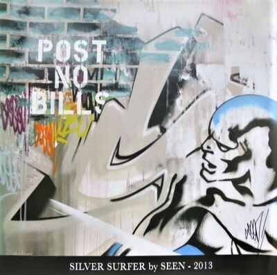 SEEN, 'Silver Surfer', 2013
