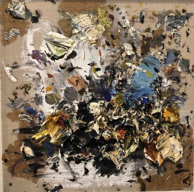 Ismael Lagares, 'Ocher XXX', 2019