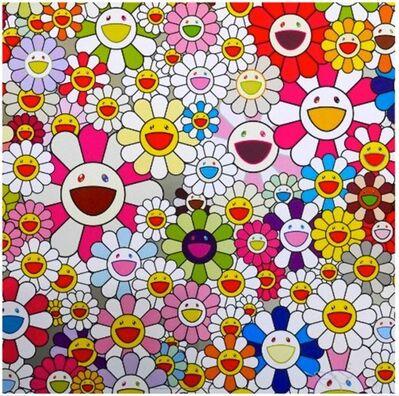 Takashi Murakami, 'Flower Blossoming In This World', 2015