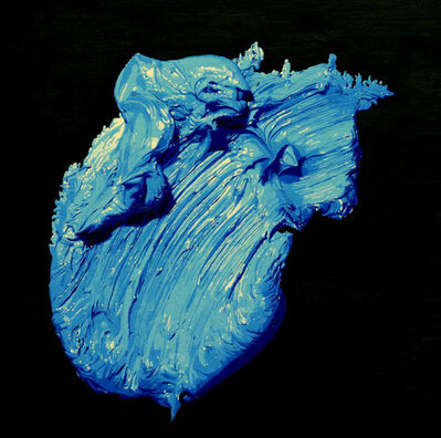 Feng Zhengquan, 'One Blue Brush Stroke', 2010