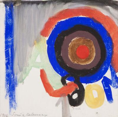 "Sonia Delaunay, '""Projet Album nº1, F. 1228""'"
