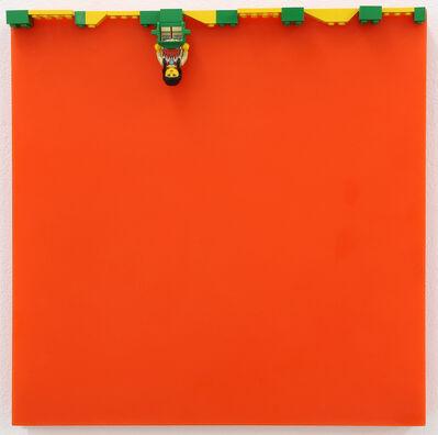 Jaye Moon, 'Indian in Orange Field', 1999