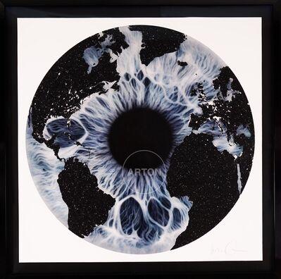 Marc Quinn, 'Blue Iris with Diamond Dust', 2019