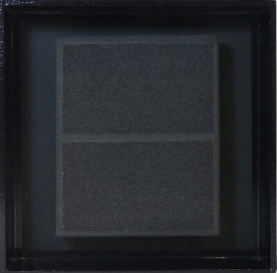 Herbert Oehm, 'Schwarzes Bild', 1969
