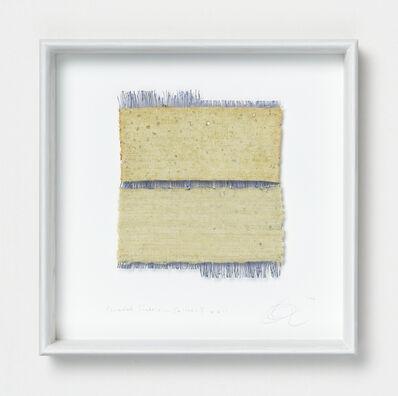 Chiyoko Tanaka, 'Grinded Fabric - Yellow . Y #611', 1990