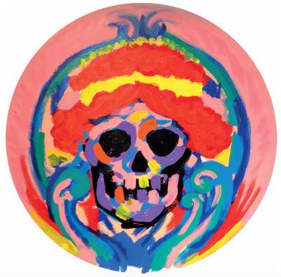 Bradley Theodore, 'Skull Red Hair ', 2016