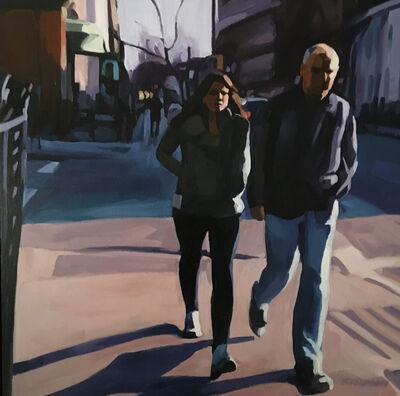 Lisbeth Firmin, 'Couple, Brooklyn', 2018