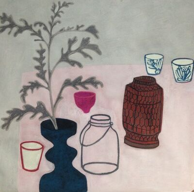 Angela A'Court, 'Pink Pot', 2019