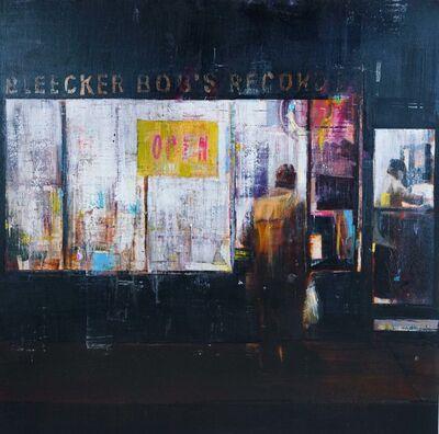 Brett Amory, 'Bleeker Bobs 9-10pm (Waiting #173)', 2013