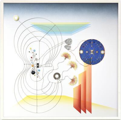 Leonardo Ulian, 'Technological mandala 117 – Space channeling', 2017